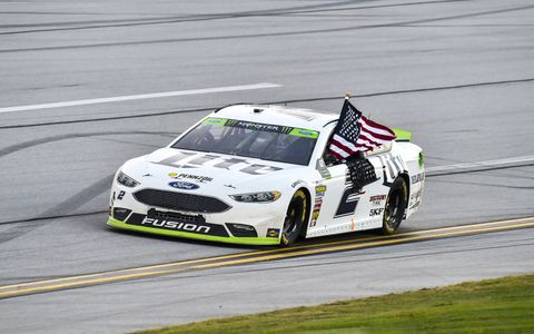 Sights from the NASCAR action at Talladega Superspeedway,  Sunday Oct. 15, 2017.