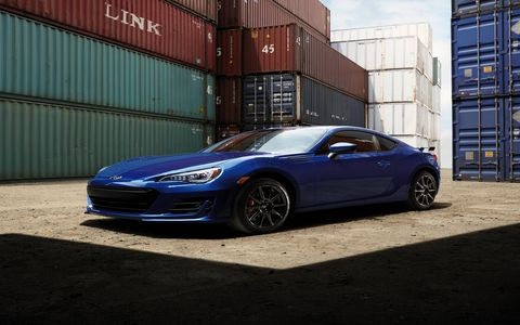 The 2017 BRZ got a slight bump in horsepower for the new year.