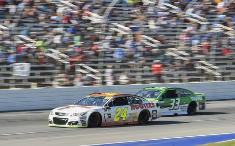 Sights from the NASCAR action at Texas Motor Speedway, Sunday Nov. 5, 2017