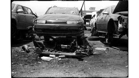 Vehicle, Car, Crash, Collision, Sedan, City car,