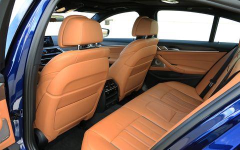 2018 BMW M550i xDrive Interior
