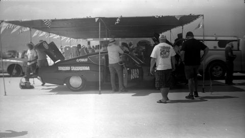 This is a real Torino Talledega. Photographed with 1916 Gauthier camera, Kodak T-Max 100 film.