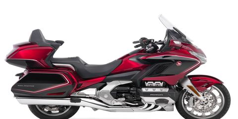 A lot of cool tech goes into Honda's halo Gold Wing motorcycle.