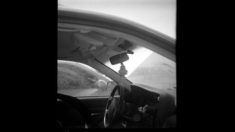 White, Vehicle door, Black, Photograph, Automotive design, Black-and-white, Motor vehicle, Monochrome photography, Windshield, Automotive exterior,