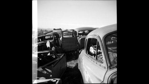 1933 Voigtlander Superb camera at High Plains junkyard.