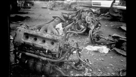 Plenty of junkyard engines get pulled, then discarded as the customers decide not to buy.