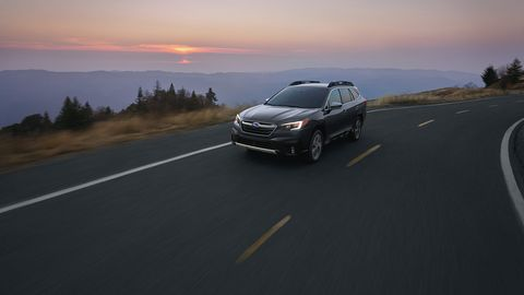 The sixth-generation Subaru Outback made its debut at the New York auto show.