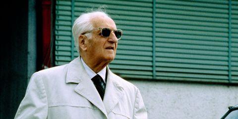 Enzo was also known as il Commendatore, il Drake, l'Ingegnere or il Grande Vecchio (The Old Man).