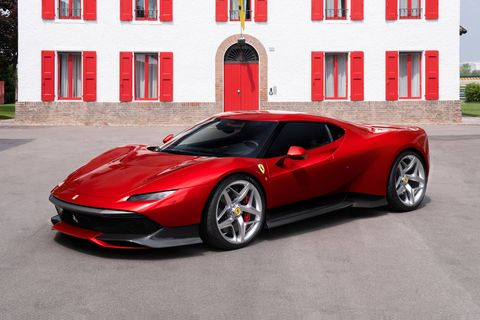 The custom Ferrari SP38 was built off the 488 GTB chassis for one lucky buyer.
