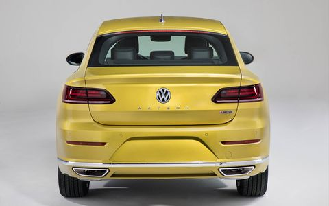 Volkswagen took the wraps off the Arteon at the 2018 Chicago auto show, with sales scheduled to start in the second half of 2018.