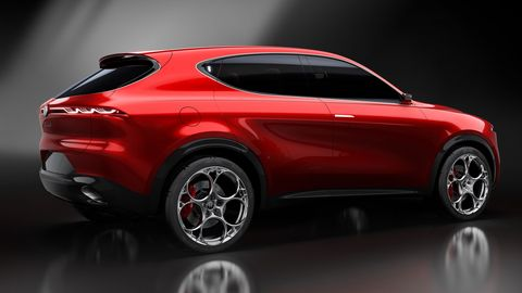 "The Alfa Romeo Tonale concept has ""social"" infotainment features like Alfista and Paddock."