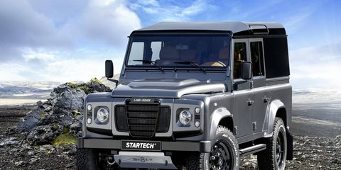 The Defender Sixty8 will wear a Series III grille and a retro front fascia.