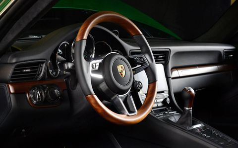 The Irish green paint dates back to early 911s in the 1960s.