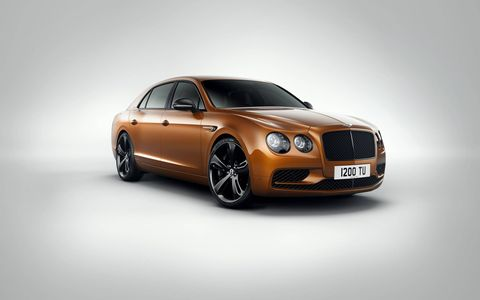 Bentley's latest is a 200 mph capable four-door luxe-mobile.