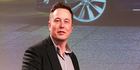 """Tesla CEO Elon Musk, pictured here in 2015, laid out """"Master Plan: Part Deux"""" almost 10 years to the day that he published the first master plan which mostly dealt with electric car production."""