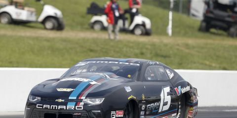 Tanner Gray's win in the Pro Stock class was cause for celebration at Chevrolet.