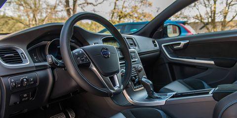 The 2018 Volvo V60 Polestar is still in the style of Volvo's last-generation wagons.