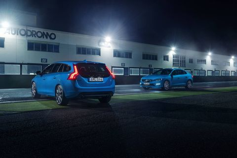 The 2018 Volvo V60 Polestar comes with a twin-charged I4 making 362 hp.