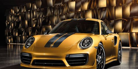 The Turbo S Exclusive Series will be built by the new Porsche Exclusive Manufaktur that specializes in customization and limited edition vehicles.
