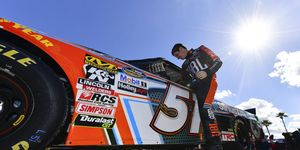 Spencer Davis is just 19 years old but has nearly a decade's worth of experience in full-size stock cars.
