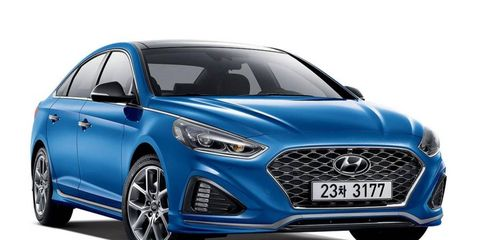 The 2018 Hyundai Sonata pulls back on some of the previous styling choices.