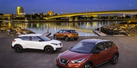Nissan lifted the curtain off of its new compact crossover at the LA Auto Show.