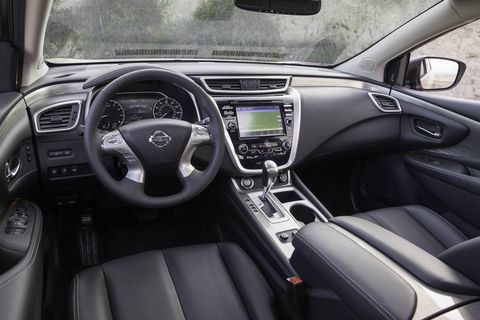 The 2018 Nissan Murano Platinum comes with all of the boxes checked, including heated and cooled seats, a heated steering wheel and remote start.