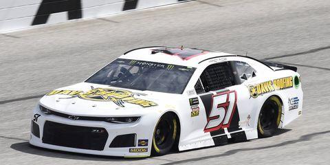 Sights from the NASCAR action at Atlanta Motor Speedway, Saturday, Feb. 24, 2018.