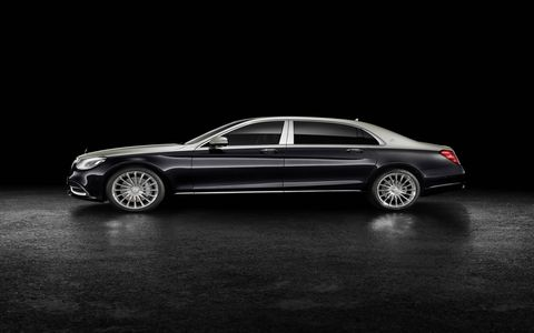 The 2019 Mercedes-Maybach will debut at the Geneva auto show in March with either 463 hp in the S560 or 621 hp in the S650.