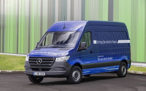 Mercedes-Benz will add a battery-electric variant of the Sprinter as it updates the commercial van line for its third generation. But it's not yet clear when, or even if, the new eSprinter will be sold in the U.S.