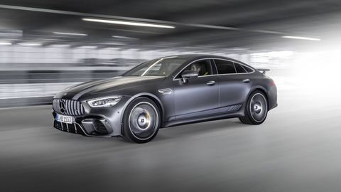 For the launch of the AMG GT four-door coupe, Mercedes will offer a special edition with extra interior and exterior badging.