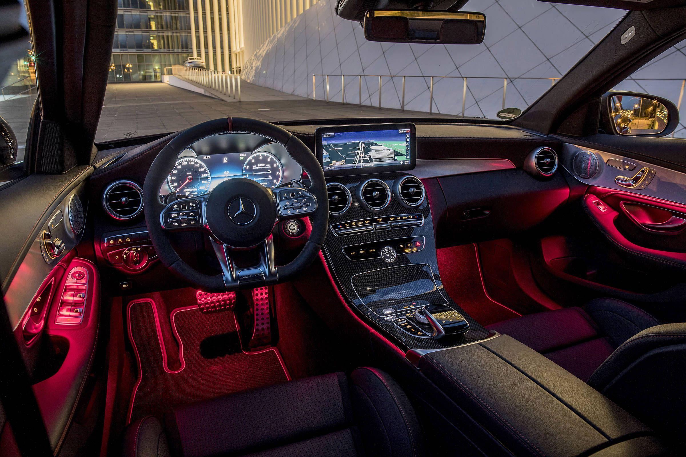 Gallery 2019 Mercedes Amg C43 Sedan Interior
