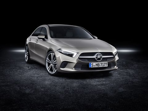The 2019 Mercedes-Benz A-Class goes on sale later this year.