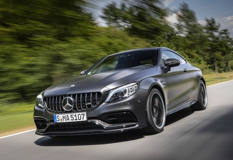 The Mercedes-AMG C 63 gets a mid-cycle facelift along with a SPEEDSHIFT MCT 9G nine-speed automatic transmission, electronically controlled rear-axle differential, and nine-stage AMG traction control (the latter in the C 63 S) .