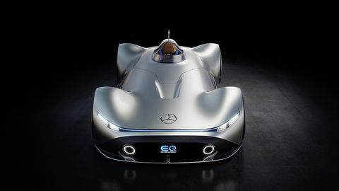 Mercedes debuted the EQ Silver Arrow concept during Monterey car week, an electric car inspired by the W 125 record setter of 1937.