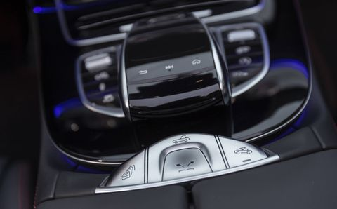 The 2019 Mercedes-AMG E 53 comes with the company's new MBUX infotainment system with two 12.3-inch displays.