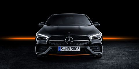 The 2020 Mercedes-Benz CLA-Class made its world premiere at the Consumer Electronics Show in Las Vegas.