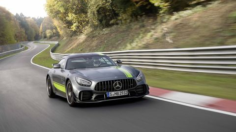 The 2020 Mercedes-AMG GT R Pro takes the already-spectacular AMG GT R to the next level.