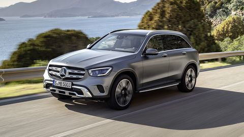 The refreshed 2020 Mercedes-Benz GLC-Class will go on sale in late 2019.