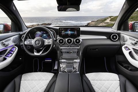 The 2020 Mercedes GLC Coupe was unveiled ahead of its official New York Auto Show introduction.