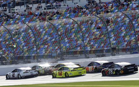 Sights from the NASCAR action  at Daytona International Speedway, Sunday Feb. 11, 2018.