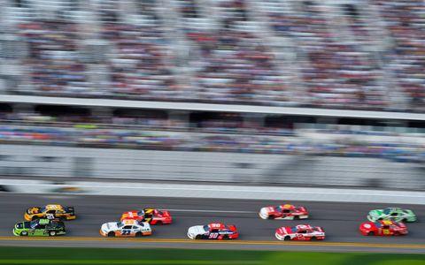 Sights from all the NASCAR action at Daytona International Speedway, Saturday, Feb. 17, 2018.