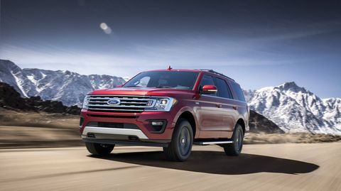 The 2018 Ford Expedition comes with a 3.5-liter EcoBoost V6 making 375 hp.