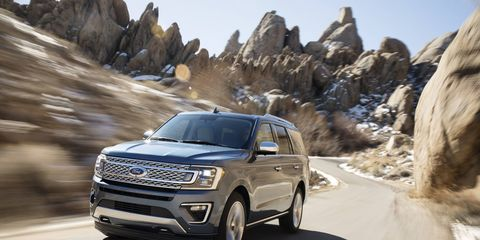 Powered by a 3.5-liter EcoBoost engine with standard Auto Start-Stop plus a new 10-speed automatic transmission, the new Expedition is the most powerful ever. A newly available electronic limited-slip differential on models with Intelligent 4WD enables improved off-road capability by sending power where it's needed.