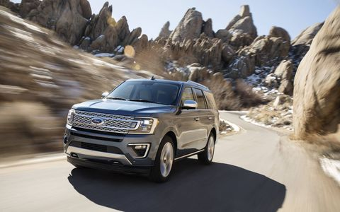 The 2018 Ford Expedition comes in lighter than its predecessor and with way more tech and safety features inside.
