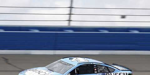 Sights from the NASCAR action at Auto Club Speedway, Friday, Mar. 16, 2018.