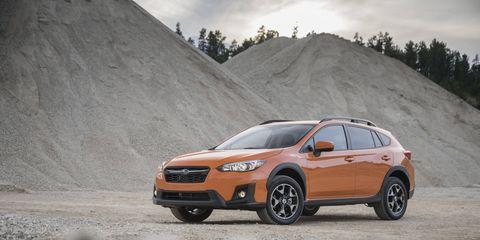 The new 2018 Subaru Crosstrek