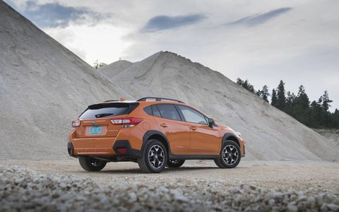 The new 2018 Subaru Crosstrek