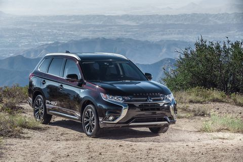 The 2018 Mitsubishi Outlander PHEV GT S-AWC starts at $41,615, including destination charges.