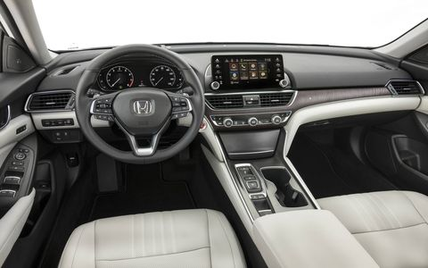 The new Accord features a longer wheelbase, a lower overall height and wider body, wider wheel tracks, a shortened overall length and lower, sportier seating position.